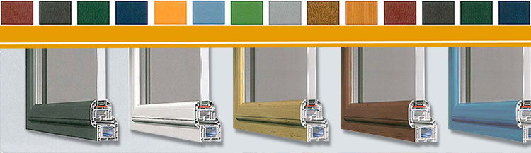 Window Frames Are Available in Many Colours
